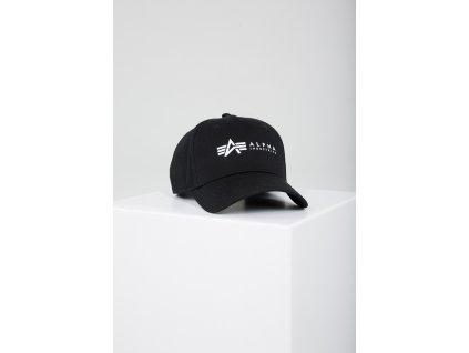 Alpha Industries ALPHA Cap šiltovka black