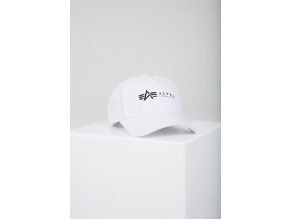Alpha Industries ALPHA Cap šiltovka white a