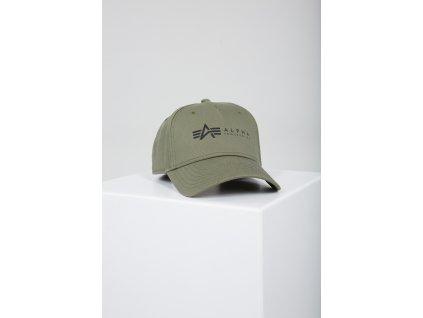 Alpha Industries ALPHA Cap šiltovka dark green