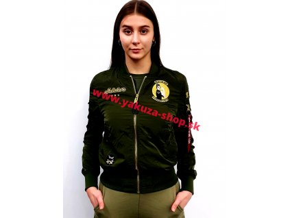 Alpha Industries MA-1 MISSILEER Wmn dámska bunda dark green
