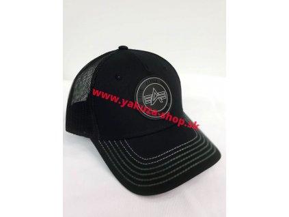 Alpha Industries TRUCKER PATCH CAP šiltovka black