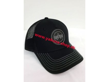 Alpha Industries TRUCKER PATCH CAP šiltovka black