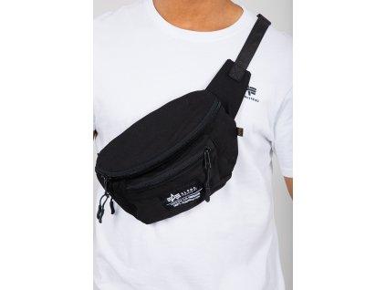 Alpha Industries BIG WAIST BAG black ľadvinka taška a