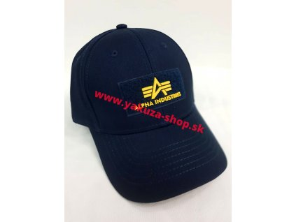 AlphAlpha Industries VLC ll Cap šiltovka rep blue