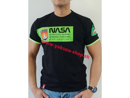 Alpha Industries MARS NEON T neon green tričko pánske
