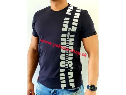 Alpha Industries REFLECTIVE PRINT T i grey tričko pánske