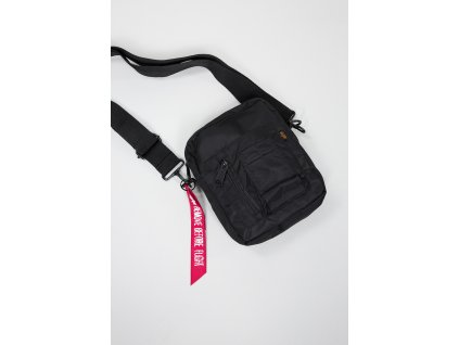 Alpha Industries Crew Carry Bag taška na rameno black