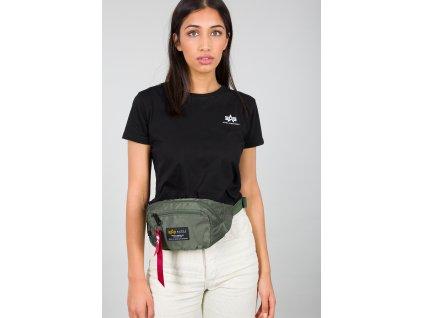 Alpha Industries CREW Waist Bag sage green ľadvinka-taška