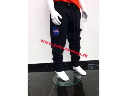 Alpha Industries NASA Jogger Kids detské tepláky black a