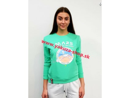 Alpha Industries Mission To Mars Sweater Wmn pastel mint