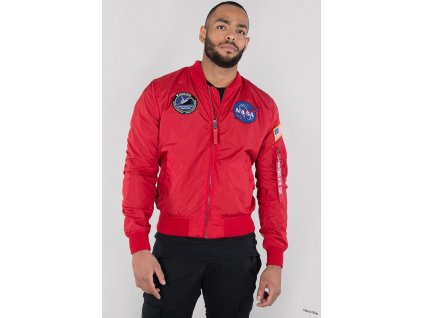 22760 9562 vyrp13 9207Alpha Industries bunda MA 1 TT NASA Reversible II speed red b