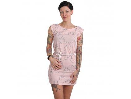 Yakuza dámske šaty DRAGON FLY KLEID GKB 15107 crystal pink
