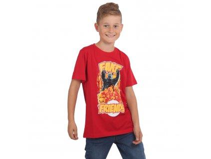Yakuza detské tričko FAKE TSB 15407 red