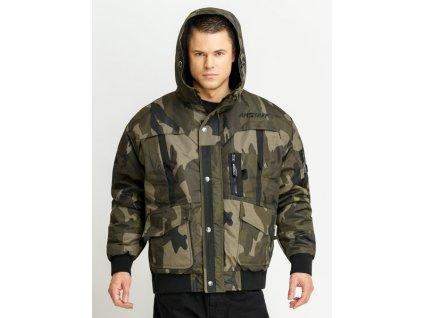 Amstaff Conex 2 Camouflage winter jacket zimná bunda pánska
