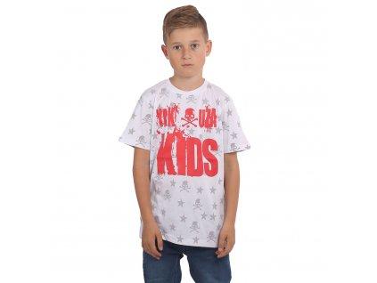 Yakuza detské tričko SKULL N STARS TSB 15408white
