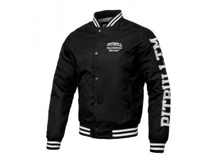 PitBull West Coast HERMANN black prechodná bunda pánska