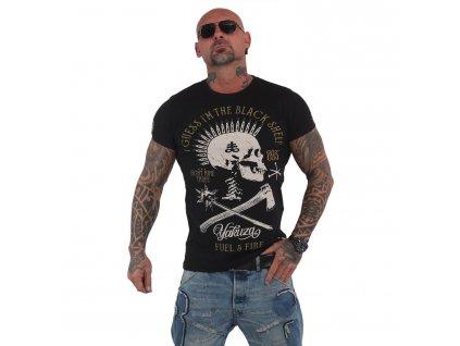 Yakuza BLACK SHEEP tričko pánske TSB 15029 black