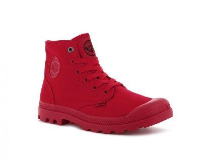 Palladium módne topánky MONO CHROME RED