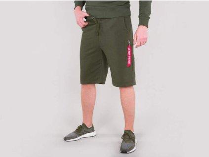 Alpha Industries X-Fit Cargo Short Dark Green pánske šortky