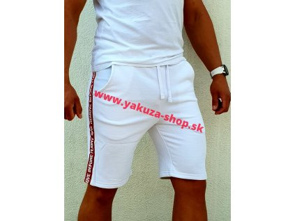 Alpha Industries RBF TAPE JOGGER Short pánske šortky white