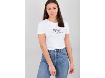 Alpha Industries New Basic T Wmn White/metal