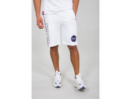 Alpha Industries ODYSSEY SHORT white pánske šortky