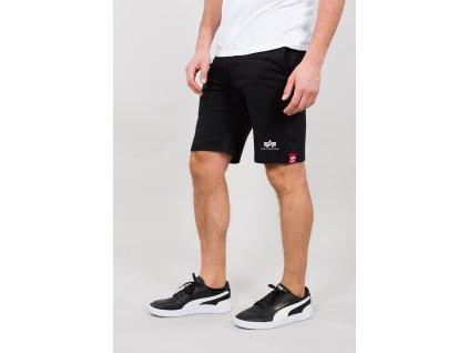Alpha Industries BIG LETTER SHORT black pánske šortky
