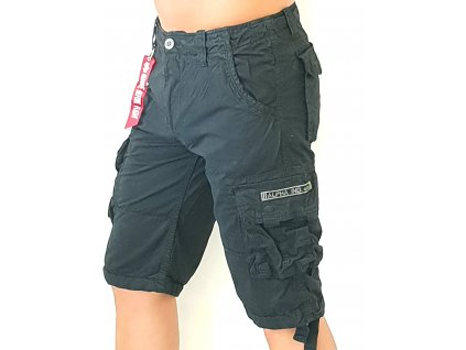 Alpha Industries Jet Short Black pánske šortky