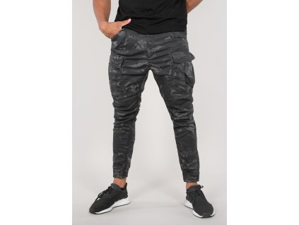 Alpha Industries nohavice Airman Vintage Pant blackcamo