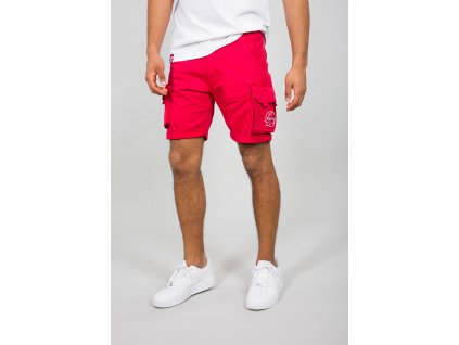 Alpha Industries NASA Short Speed red pánske šortky