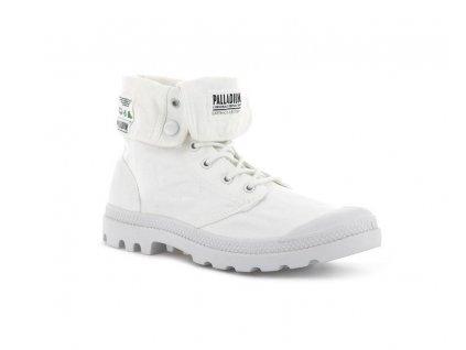 Palladium módne topánky BAGGY ORGANIC STAR WHITE