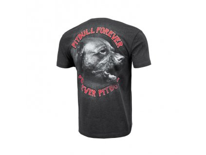 PitBull West Coast tričko pánske PFFP dark grey melang