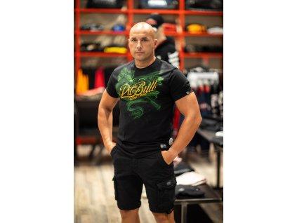 PitBull West Coast tričko pánske THUG LIFE black