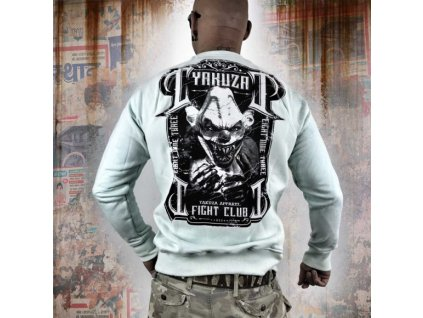 Yakuza FIGHT CLUB mikina PB 9033 hint of mint