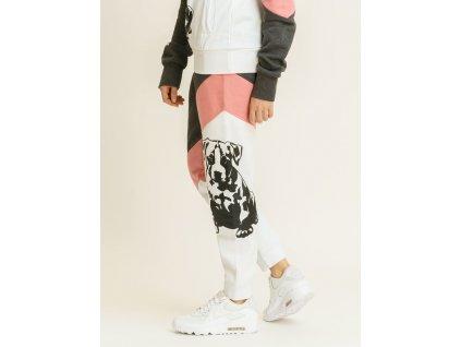 Babystaff tepláky SADY grey/pink
