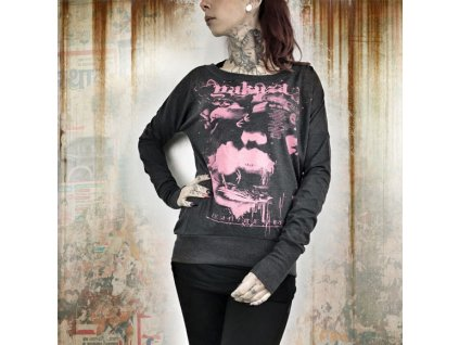 Yakuza FLY OR DIE dámske tričko s dlhým rukávom GLSB 9123 black