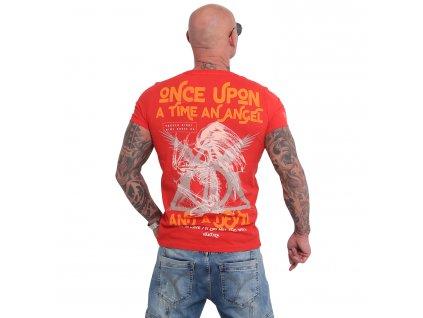Yakuza ONCE UPON tričko pánske TSB 16016 ribbon red