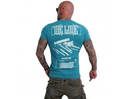 Yakuza WE LOVE tričko pánske TSB 16019 biscay bay