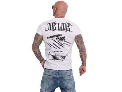 Yakuza WE LOVE tričko pánske TSB 16019 white