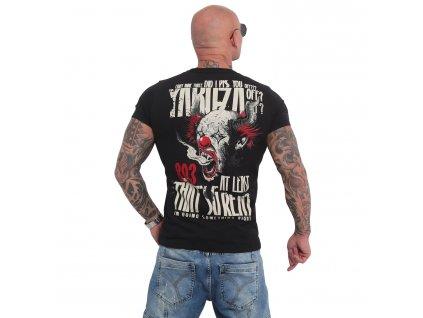 Yakuza PISS OFF tričko pánske TSB 16020 black