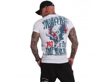 Yakuza PISS OFF tričko pánske TSB 16020 white