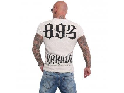 Yakuza BARBWIRE tričko pánske TSB 16023 white