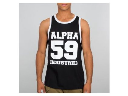 Alpha Industries 59 TANK tielko pánske black