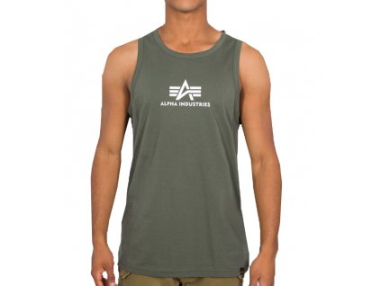 Alpha Industries BASIC TANK tielko pánske dark olive