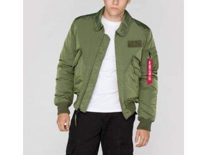 Alpha Industries CWU VF TT bunda sage green