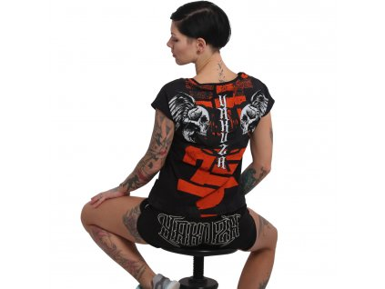 Yakuza SICK NIPPON V NECK dámske tričko GSB 16126 black