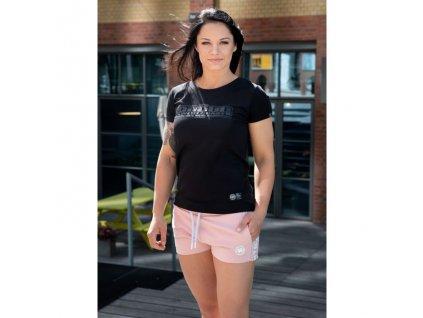 PitBull West Coast dámske tričko BOXING Lycra black