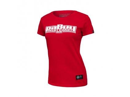 PitBull West Coast dámske tričko BOXINGred