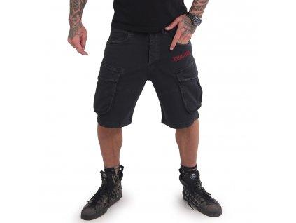 Yakuza cargo šortky TOKYO CSB 16050 black