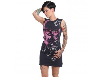 Yakuza dámske šaty STARLET DRESS GKB 16153 anthrazit